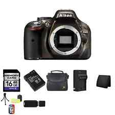 Nikon D5200 Digital SLR Camera - Bronze (Body) w/ 16GB, Extra Battery & More!