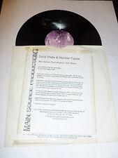 """Estado sólido y fusión nuclear-la Sra. Warren Tours BANGKOK - 12"""" DJ promo single"""