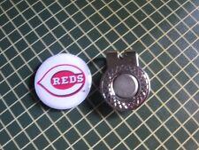 GOLF / Cincinnati Reds Logo Golf Ball Marker/with Magnet Hat Clip New!!