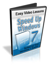 How To Speed Up Windows 7 System Video Tutorials on Cd