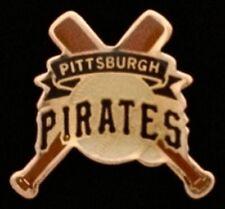Pittsburgh Pirates Baseball Pin Badge ~ MLB ~ Cross Bats