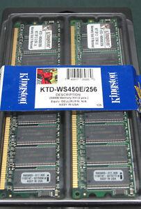 Kingston KTD-WS450E256 (128 MB, DDR RAM) RAM Module