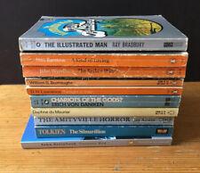10 x Classic Paperbacks - Vintage Penguin - Burroughs, Wyndham, Lawrence Lot