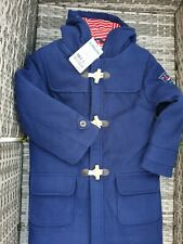 Gorgeous Dark Blue Jojo Maman Bébé Duffle Coat 5-6 Years