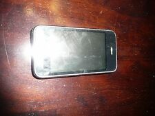 BLACK PARTS NOT WORKING APPLE  IPHONE PARTS MODEL A1303 3GS