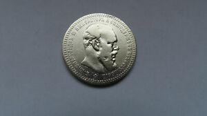 Russland--1 Rubel  1892  Alexander III. ORIGINAL Silber