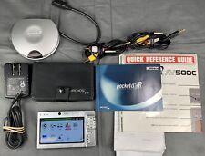 Archos Pocket Dish Av500E Silver 30Gb Digital Media Player Video Music +Extras