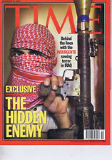 THE HIDDEN ENEMY / INSURGENTS IN IRAQ	Time magazine	Dec 	15	2003