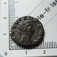 H04303 monnaie romaine antoninien de gallien gama AETER NITAS l'éternité rare r1