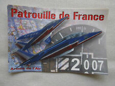 AUTOCOLLANT STICKER ARMEE DE L'AIR ALPHA JET DASSAULT PATROUILLE DE FRANCE 2007