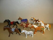 PLAYMOBIL HORSES +PONIES JOB LOT (animals for farm or Stable)