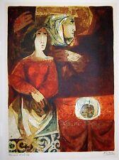 "ALVAR  vintage signed / artist's proof  lithograph  ""LA DUENA""   SIGNED"