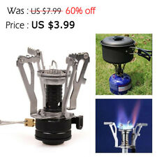 Ultralight Backpacking Butane Gas Burner Propane Canister Stove Outdoor Camping