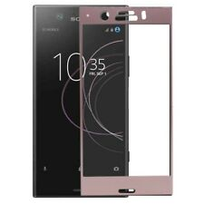 FULL verre blindé 0,26 mm fin H9 rose pour Sony Xperia XZ1 Compact