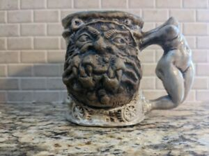 Jim Rumph Pottery Headless Maiden - Nude Woman with Ogre - Not used for drinking