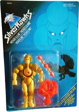 SilverHawks Mo-lec-u-lar-Volt-ure Figure Vintage 1986 Collectible MOSC NEW!!