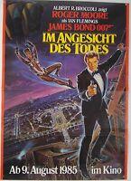 JAMES BOND 007 - Im Angesicht des Todes A VIEW TO A KILL - Filmplakat DIN A1