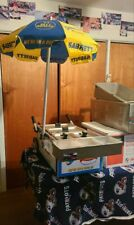 Used SABRETT HOT DOG TABLE TOP CART with extras!