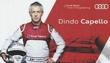 2014 Dindo Capello Audi Racing COTA FIA WEC postcard
