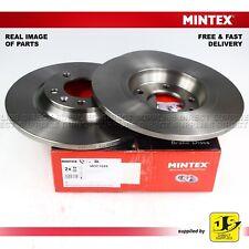 2X MINTEX DISC BRAKES REAR CITROEN C5 III PEUGEOT 407 SW 6D_ 6E_ 508 SW 607 RCZ