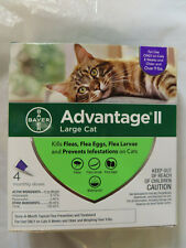 Bayer Advantage Ii Large Cat Over 9lb Flea Treatment Control 4 Monthly Doses