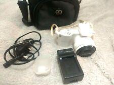 Samsung NX NX1000 20.3MP Digital Camera - White (Kit w/ NX 20-50mm Lens).
