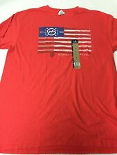 Magellan Outdoors Men's L Red Cotton Tee - NWT