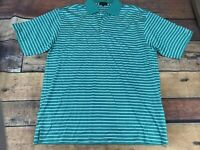 Nick Price Mens Polo Shirt Size Large Striped F112