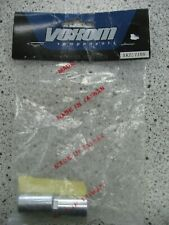 NOS  Voxom Chrome Bicycle Axle Nuts fits 3/8 X 26t -BMX 1 pair