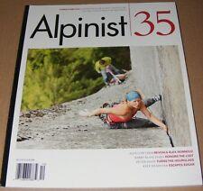 Alpinist magazine #35 Summer 2011  Mountaineering Climbing