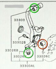 Genuine Mitsubishi OE Rear Knuckle Control Arm Bushing SET of 3  Eclipse Galant