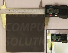 Self Adhesive 1 Side Thermal Conductive Pad 100x 100x 0.5mm 1.5 W/m.k dark grey