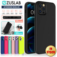 iPhone 12 11 Pro Max mini Case ZUSLAB Soft Silicone Shockproof Cover For Apple