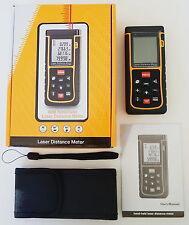 80m 262ft 3150in Digital Laser Distance Meter Range Finder Measure Diastimeter
