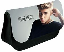 Justin Beiber #1 personalised pencil cases