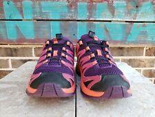 Women's Size 5 SALOMON XAPRO Purple/Pink  Comfort Running Training Shoes 390443