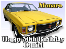 Monaro HQ GTS 350 Car Edible Icing Image Cake Decoration Birthday Party Topper