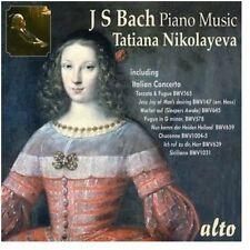 Nikolayeva Tatiana: Plays Bach Piano Mu - Tatiana Nikolayeva (CD Used Very Good)