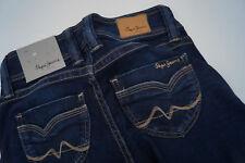 PEPE JEANS Banji Damen Hose stretch knack po 24/28 W24 L28 stonewashed blau #10