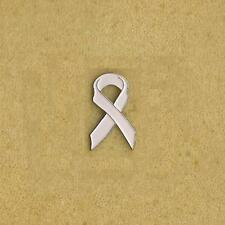 BREAST CANCER LIGHT BLUE RIBBON PIN