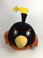 "Black Bomb Space Bird Angry Birds 17"" Plush Stuffed Toy w/ Sounds Commonwealth"