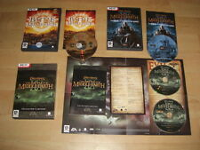 LOTR-La Battaglia per la terra di mezzo 1 + II 2 COLLECTOR'S + aumento del re stregone pc