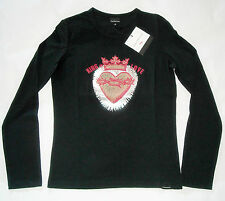 CK CALVIN KLEIN JEANS t-shirt KING of LOVE maglia maglietta donna M (S) BNWT