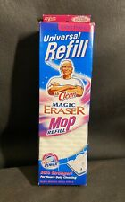 NEW Mr.Clean Magic Eraser ExtraPower Mop Refill for Heavy Cleaning Universal Fit