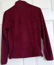 Mountain Hardwear Microchill Women's Small Lined Soft Fleece Cranberry Jacket