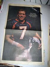Denver Broncos - Rocky Mt. News - John Elway Milk Promo, 1 page, 1/26/98, 21x13
