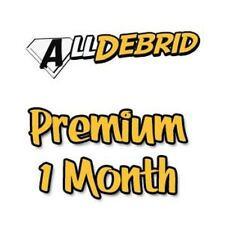 AllDebrid.com 1 month Premium - Fast worldwide processing 24H