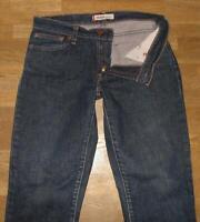 """LEVI`S JEANS / LEVIS Blue-Jeans in dunkel- blau in ca. W30"""" /L31"""" - enger genäht"""