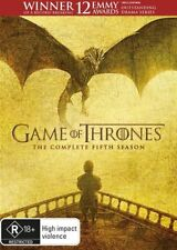 Game Of Thrones : Season 5 (DVD, 2016, 5-Disc Set)