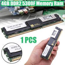 4GB Server Memory RAM Desktop PC DDR2 667Mhz 1.8V 240Pin DIMM ECC PC2-5300F